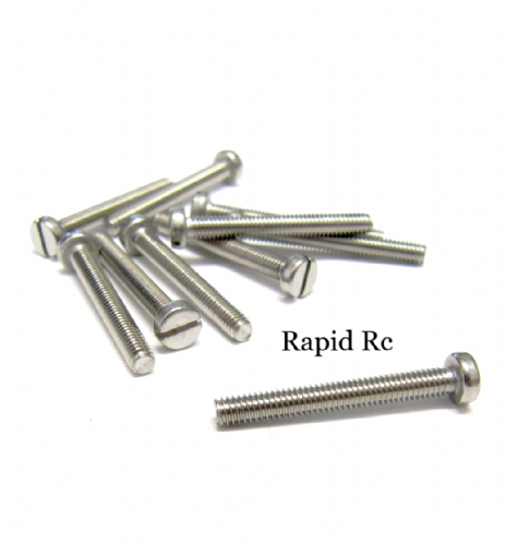 M2.5 x 20mm Stainless Steel Phillips Head Machine Screw